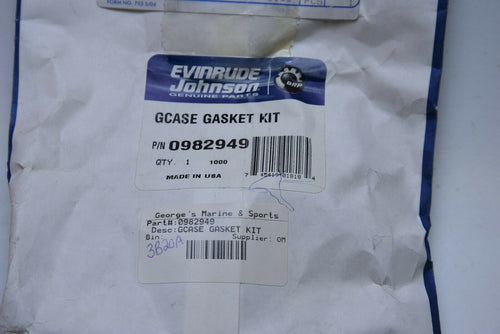 Johnson Evinrude 0982949 982949 OMC BRP - Gearcase Gasket Kit Set (upper) + seal