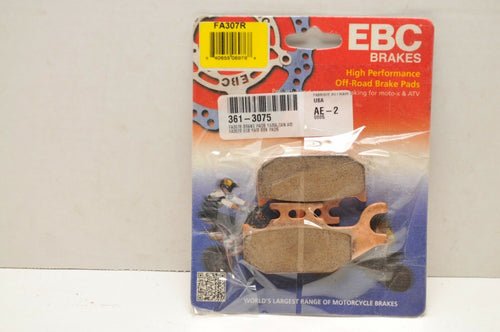 EBC Brake Pads FA307R SINTERED BOMBARDIER TRAXTER QUEST CAN-AM JOHN DEERE BUCK++