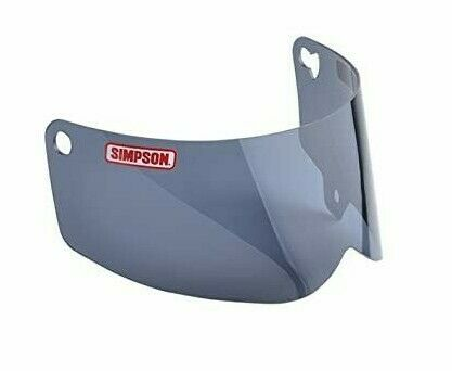 Simpson Outlaw Bandit Smoke Shield Tinted Visor (pre-2017 ONLY) 89101MB Md/Lg