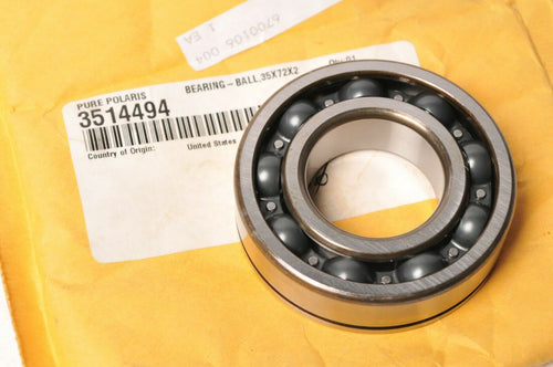 Genuine Polaris 3514494 Bearing 35x72x20 Crankshaft 900 500 600 440 800 IQ RMK +