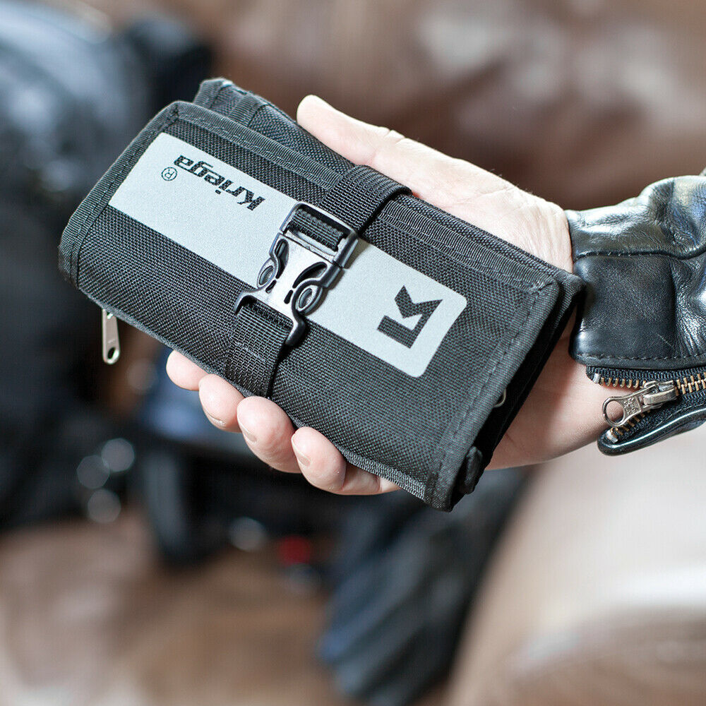 Kriega KSTSH - Stash Travel Wallet,Motorcycle Adventure Accessory Must Have!