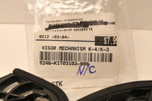 Load image into Gallery viewer, GENUINE AGV KIT03103-999 Pivot Kit **only 2 screws!** for K3 Helmet