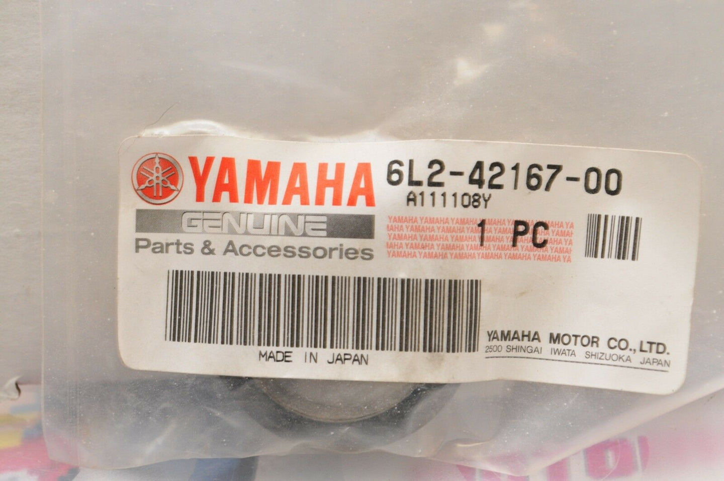 NEW NOS OEM YAMAHA MARINE 6L2-42167-00-00 SPRING1 (THROTTLE) 25 HP OUTBOARD
