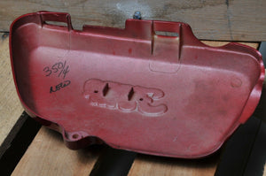 GENUINE HONDA SIDE COVER CB350 Four LH LEFT COVER RED 1972
