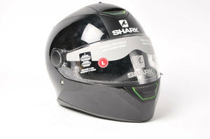 Shark Skwal Motorcycle Helmet Matte+Gloss Black L Large HE5-405EB-LK-LG