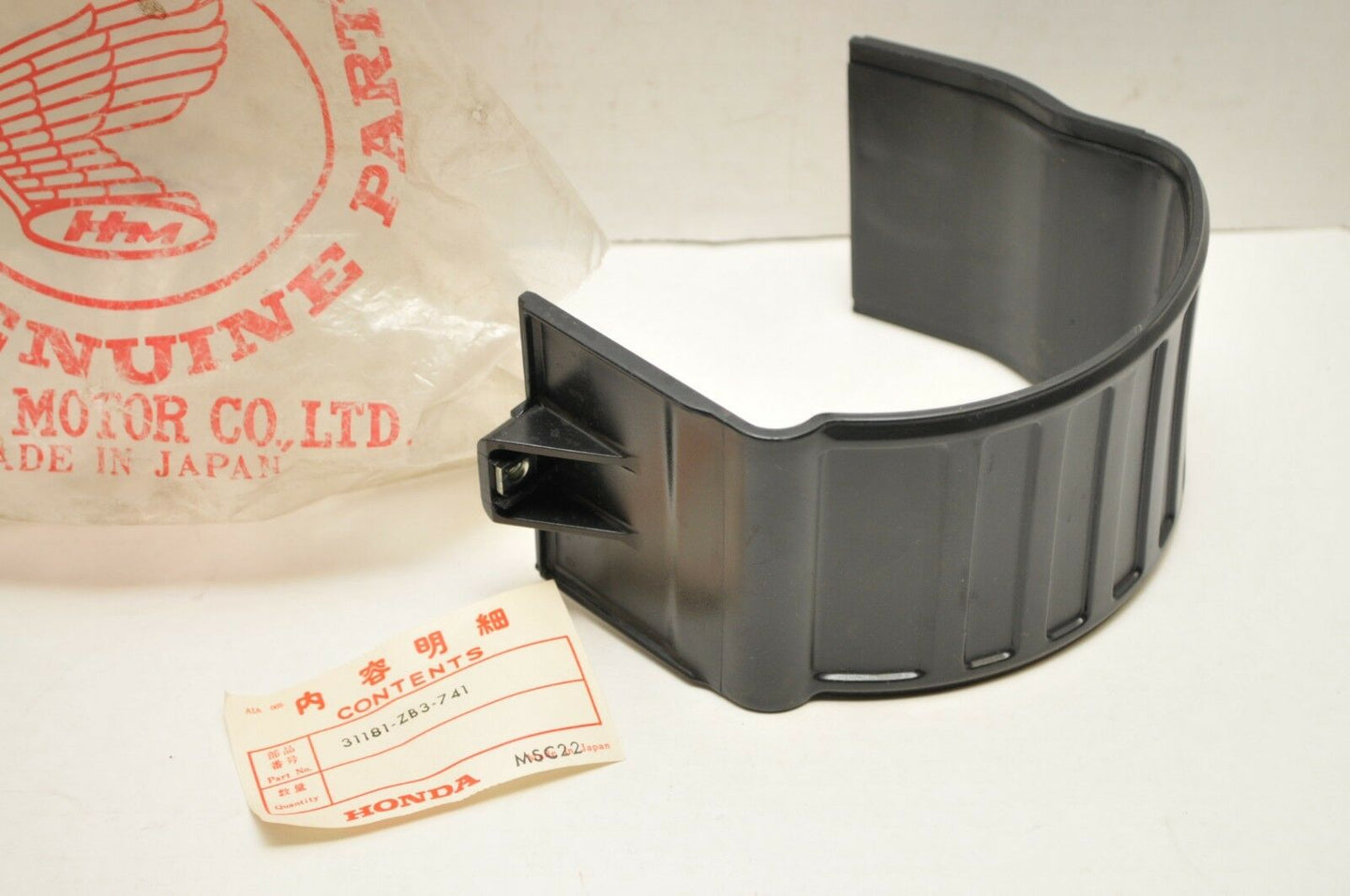 GENUINE NOS HONDA 31181-ZB3-741 STATOR COVER