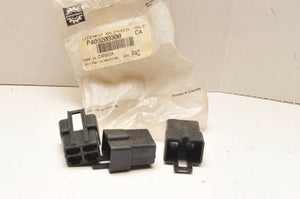 New NOS SkiDoo BRP MALE CONNECTOR HOUSING 409209300 LOT OF 3