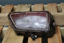 Load image into Gallery viewer, GENUINE YAMAHA SIDE COVER RIGHT XS650 1978 BURGUNDY W/LATCH - Motomike Canada