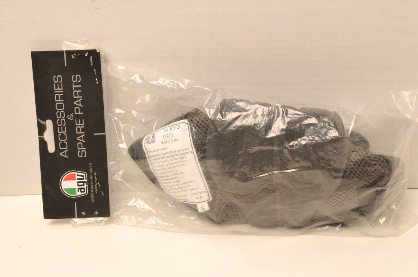 GENUINE AGV Liner Top Crown Pad - KIT00301999 K-4 K4 Evo Helmet S Small