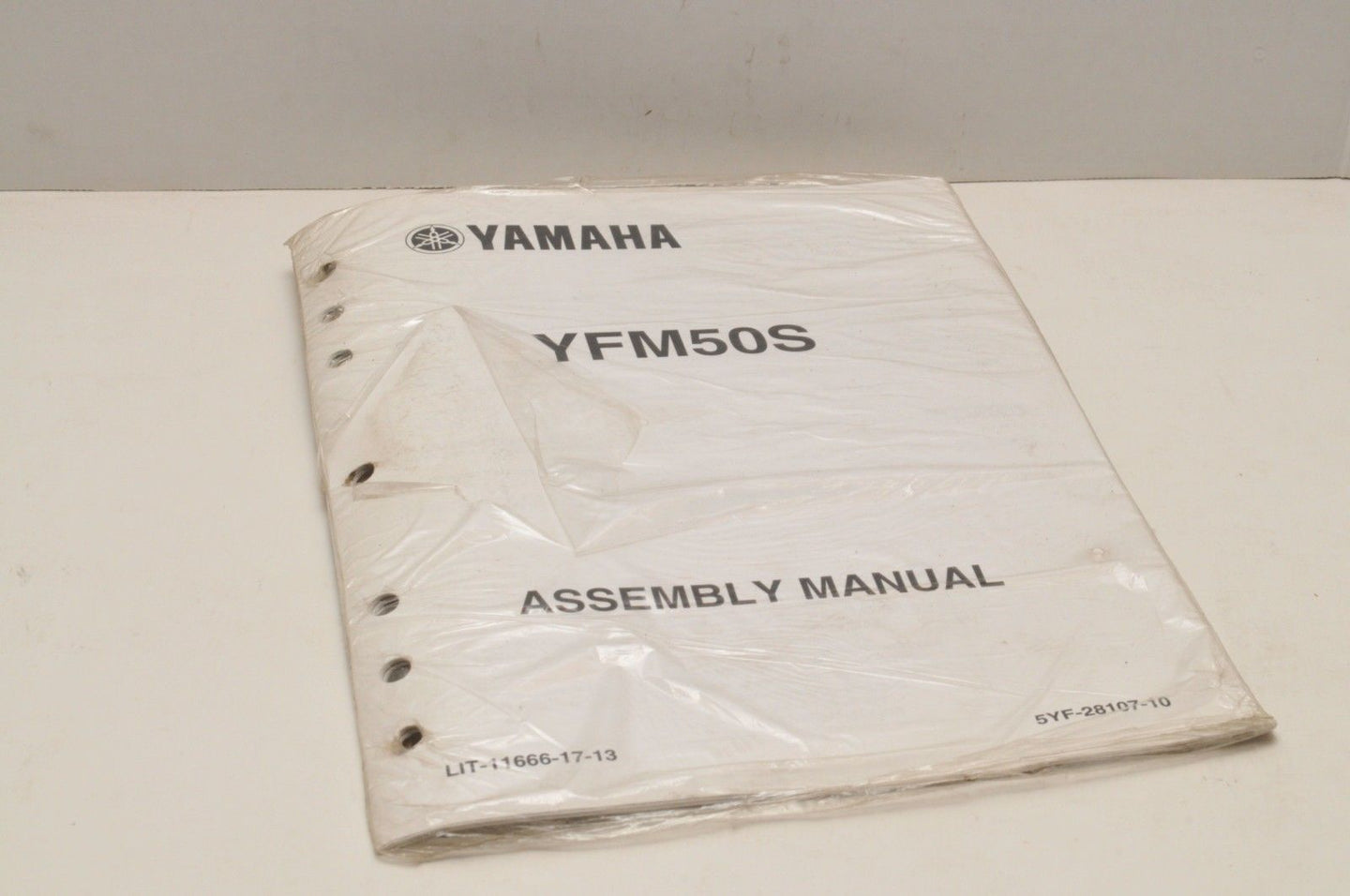 Genuine Yamaha ASSEMBLY SETUP MANUAL YFM50S RAPTOR 50 2004 LIT-11666-17-13