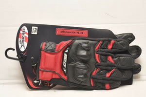 Joe Rocket Mens Phoenix 4 Motorcycle Gloves Red size SMALL 1056-1102