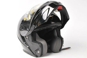 Scorpion EXO-GT-920 Motorcycle Helmet Modular Gloss Black XS 92-0032 extra small