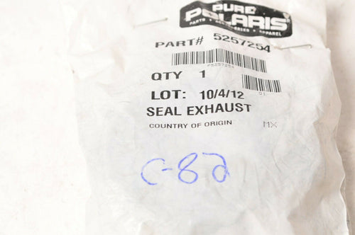 Genuine Polaris 5257254 Seal Gasket Exhaust - RZR 800 4 S EPS 2008-2014