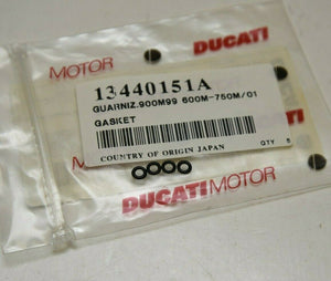 Genuine Ducati 13440151A O-Ring (carb) Qty:4  - Monster 400 600 750 900 ++