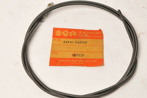 Genuine Suzuki 34941-34030 CABLE,INSIDE WIRE, TACH TACHOMETER - TS185 GT550 ++