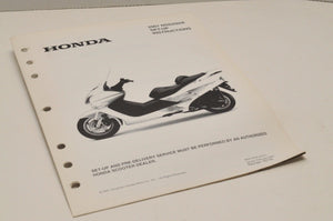 2001 nss250 / A Genuine OEM Honda Factory SETUP INSTRUCTIONS PDI MANUAL S5135