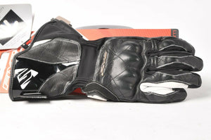 Five WFX Skin WP Leather Women's Motorcycle Gloves Small S/8 555-05492