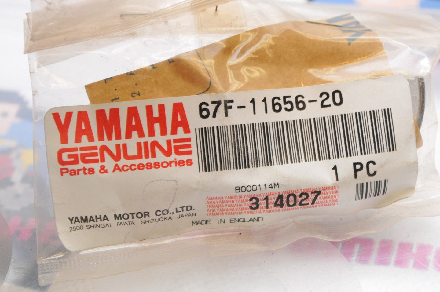 NEW NOS OEM YAMAHA 67F-11656-20-00 PLANE CONNECTING CON ROD BLUE 75 80 100 ++ - Motomike Canada