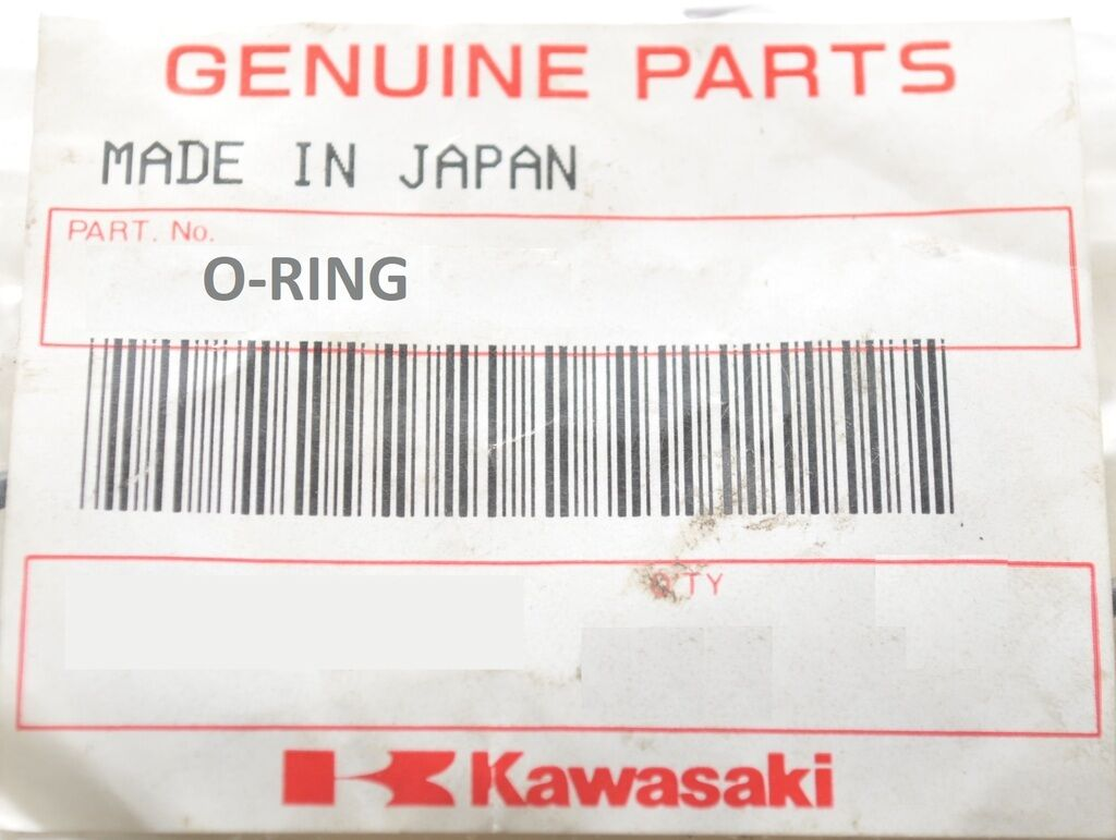 New Kawasaki NOS O-RING 92055-3762 120X3 ENGINE COVER JT1200++