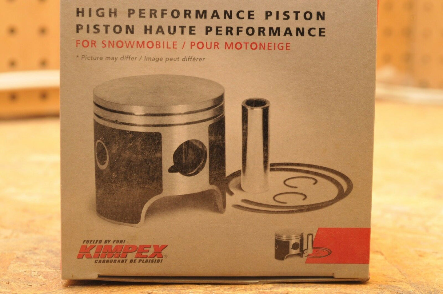 NEW NOS KIMPEX PISTON KIT STD 09-656M SABERCAT 600 2004-2006 +  3006-645