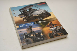 OEM Yamaha Technical Update Manual (YTA) LIT-17500-AT-09 ATV and SxS 2009 09