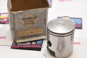 NOS New Old Stock MARCO RACING Piston JLO ROCKWELL 340 TWIN STD - Motomike Canada