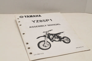 Genuine Yamaha FACTORY ASSEMBLY SETUP MANUAL YZ85P1 YZ85 2002 LIT-11666-15-23