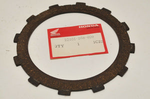NEW OEM HONDA 22201-268-010 CLUTCH FRICTION DISC  CB72 CB77 CL72 CL77