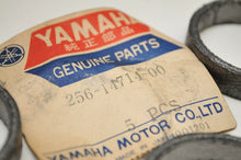 Load image into Gallery viewer, NOS OEM YAMAHA 256-14714-00-00 Qty:5 GASKET, MUFFLER EXHAUST XS1 XS2 TX650
