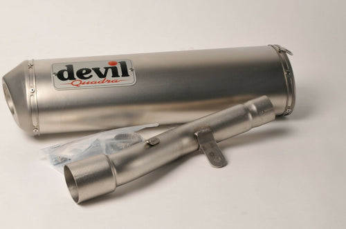 NEW Devil Exhaust - Slip on muffler silencer Quadra 54629 Adly 300 Thunder Bike
