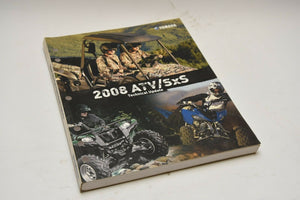 OEM Yamaha Technical Update Manual (YTA) LIT-17500-AT-08 ATV and SxS 2008 08