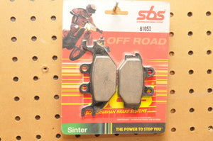 SBS SINTERED BRAKE PADS 810SI ARCTIC CAT CAN-AM KYMCO KAWASAKI SEE LIST! - Motomike Canada