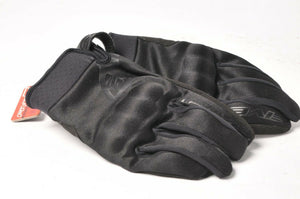 Five Globe Black Textile Men's Motorcycle Gloves XXL 2XL/12 555-06186