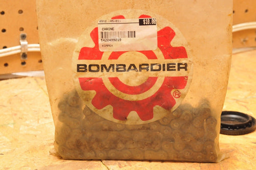 OEM DRIVE CHAIN CAN-AM 420499019  NEW NOS OPEN PACKAGE BOMBARDIER