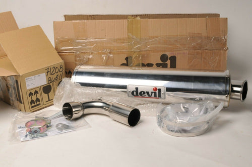 DISPLAY Devil Exhaust Muffler Silencer - Buell S3 1200 - 71208 + 53499 Trophy