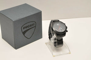 GENUINE DUCATI MOTORCYCLE ROAD MASTER WATCH QUARTZ CHRONOGRAPH WRISTWATCH