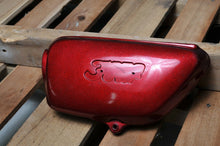 Load image into Gallery viewer, GENUINE HONDA SIDE COVER CB350 Four LH LEFT COVER RED 1972
