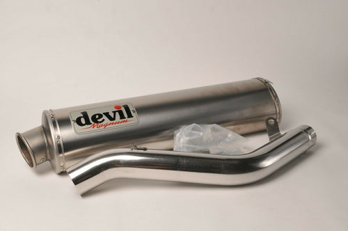 NEW Devil Exhaust - High Mount Titanium Magnum 58760 Suzuki GSX-R1000 2005-2006