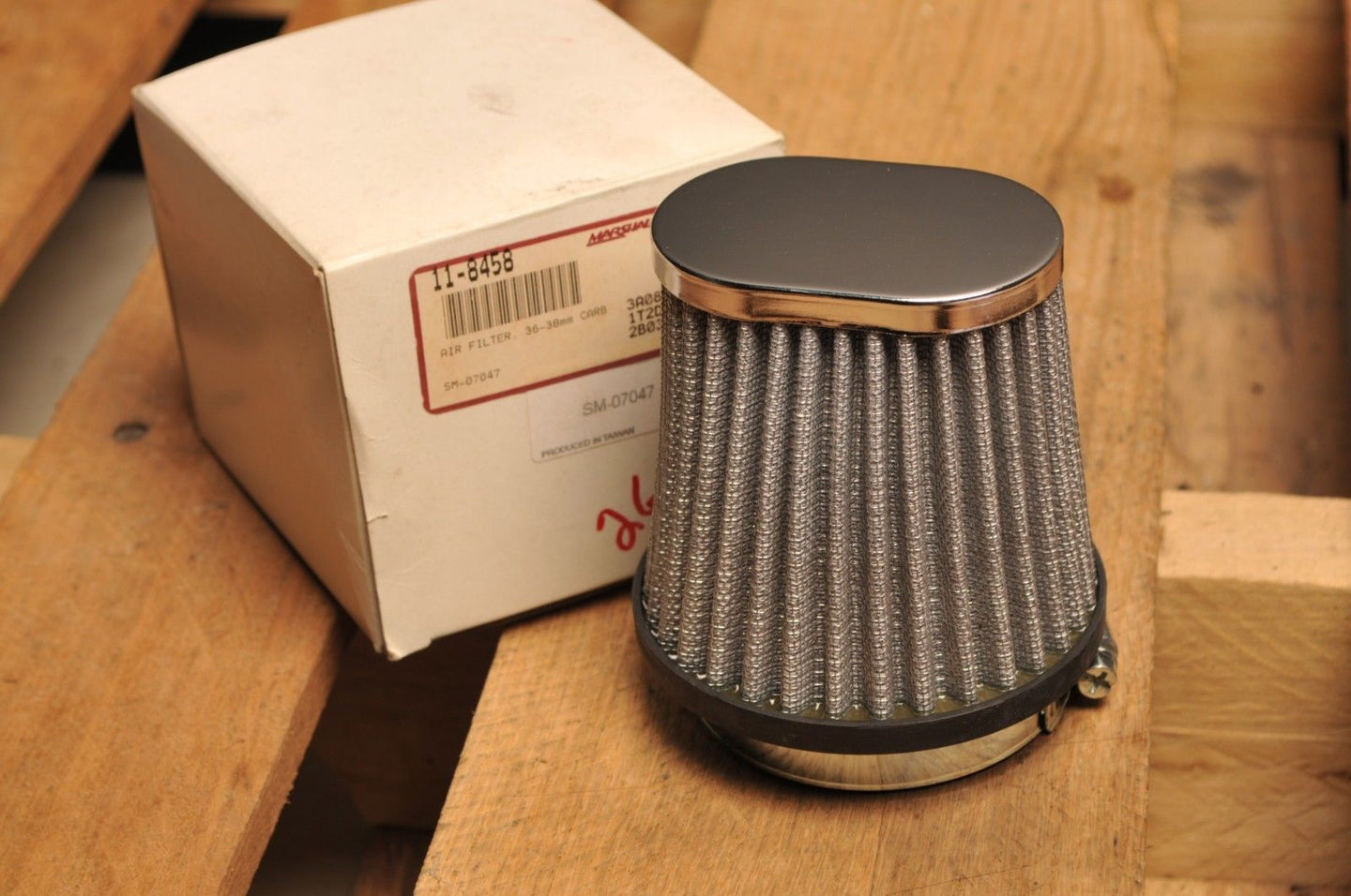SPI UNIVERSAL AIR FILTER SM-07047 - 36-38mm MIKUNI CARB -