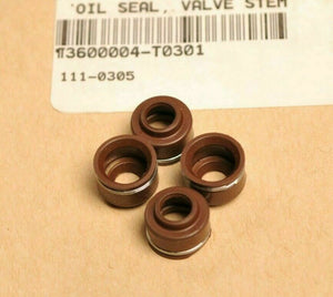 Genuine OEM Triumph T3600004 Qty:4 Oil Seal-Valve Stem Seals, Daytona,Scrambler