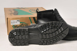 Martino Boots - Men's Black Leather Walker Motorcycle Shoes 90772 size 13