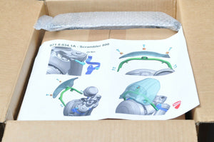 GENUINE DUCATI 97180341A SMOKE SCREEN KIT SCRAMBLER WINDSCREEN WINDSHIELD