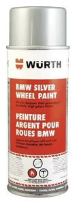 Wurth 893.339108 German Silver Wheel Lacquer Paint 12oz Aerosol Spray - BMW +