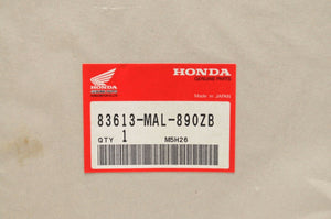NOS OEM HONDA DECAL 83613-MAL-890ZB STRIPE A RIGHT COVER (TYPE4 )CBR600F3 1996