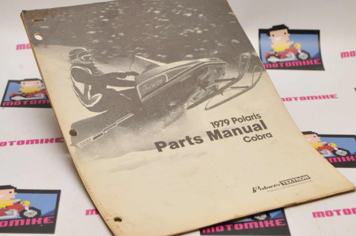 Genuine POLARIS Factory ILLUSTRATED PARTS MANUAL - 1979 COBRA 9910564