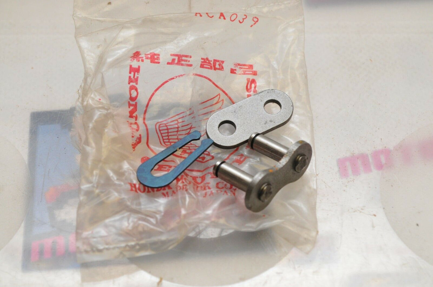 NEW NOS OEM HONDA 40531-430-003 520 CHAIN MASTER CLIP LINK JOINT (958-003)