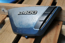 Load image into Gallery viewer, GENUINE KAWASAKI SIDE COVER KZ400  BLUE 36007-053-4X