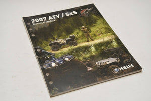 OEM Yamaha Technical Update Manual (YTA) LIT-17500-AT-07 ATV and SxS 2007 07