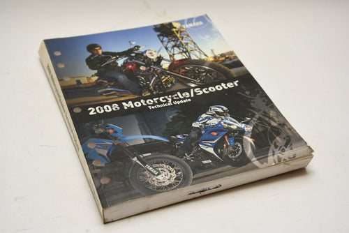 OEM Yamaha Technical Update Manual (YTA) LIT-17500-MC-08 Motorcycle Scooter 2008
