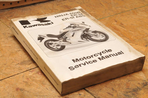 Kawasaki Factory Service Manual FSM OEM SHOP Ninja 650R/ER-6f/ABS 99924-1361-01
